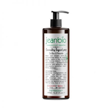 JEANBIO CANNABIS LIQUID SOAP TEA TREE FORMULA