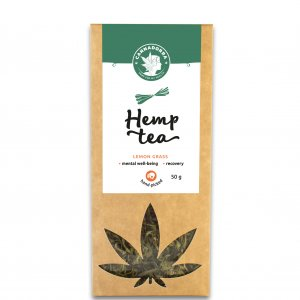 Hemp tea lemon grass
