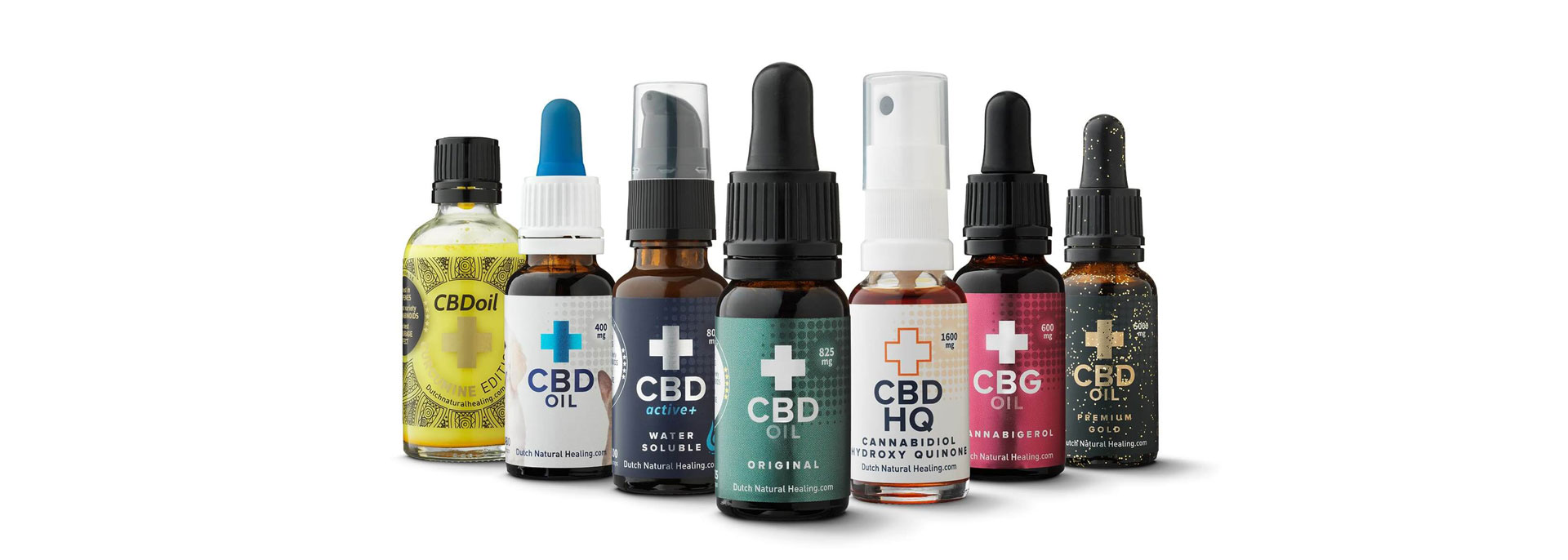 Έλαια CBD της Dutch Natural Healing