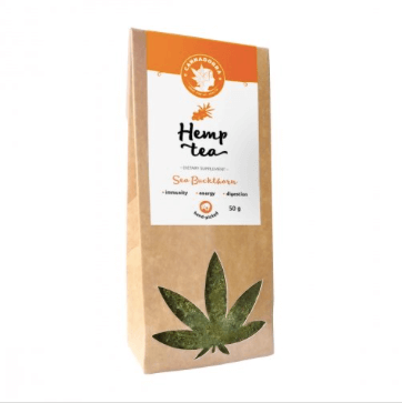 Hemp_tea_with_sea_buckthorn