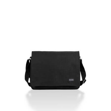 Pure Τσάντα ώμου Μαύρη