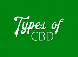 types of cbd