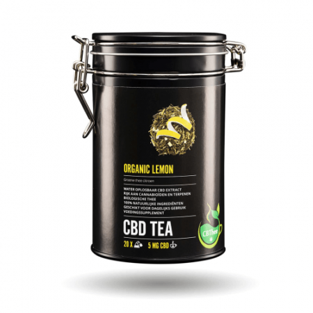CBD Tea Organic Lemon