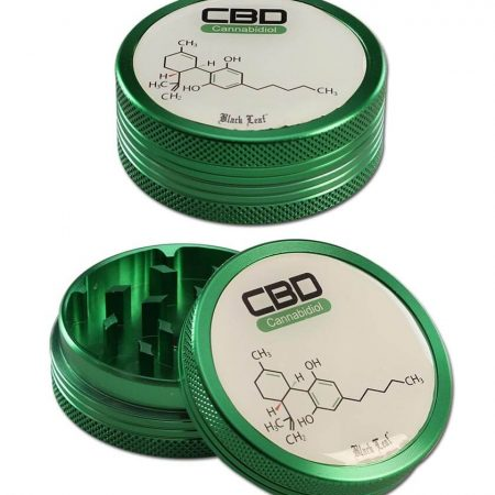 black leaf cbd grinder 2part