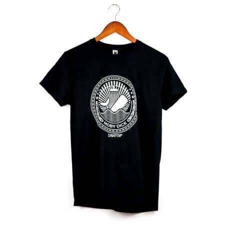 Moby Dick Black T-shirt