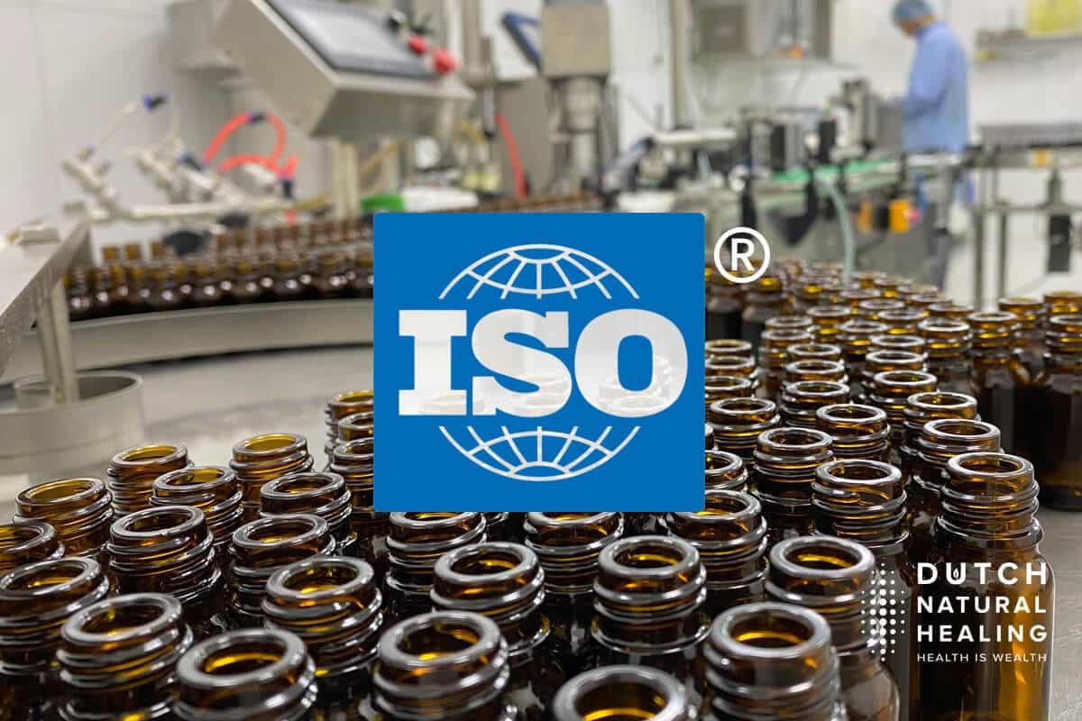 Έλαιο CBD με πιστοποίηση ISO