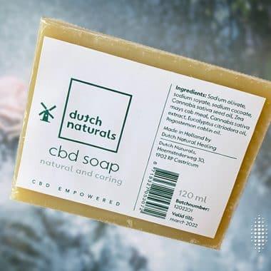 Φυσικό σαπούνι CBD: πλύνετε τα χέρια σας και φροντίστε το δέρμα σας