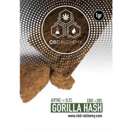 gorilla hash CBD